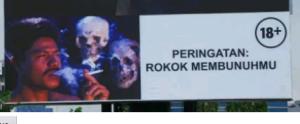 rokok membunuhmu versi Indonesia