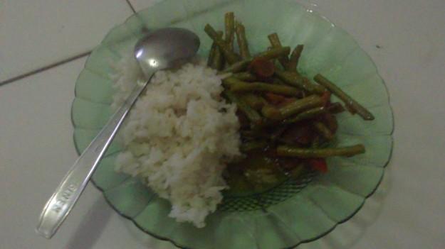 resep bikin sayur tumis kacang panjang