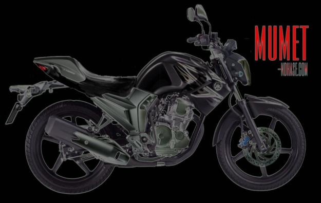 Yamaha Scorpio Z pantat seksi