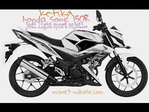 Honda Sonic 150 R modifikasi