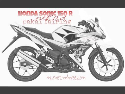 honda Sonic 150 modifikasi