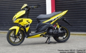 yamaha Aerox 125 LC GP EDITION