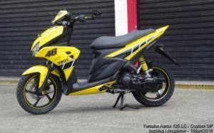 Yamaha Aerox 125 LC tanpa Blue Core