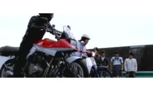 Honda Super Cub tega melawan moge Suzuki Katana ?! Somplak lagh..