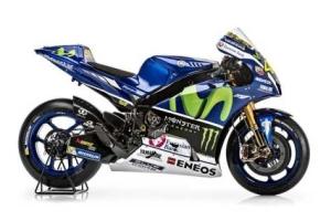 Yamaha YZR M1 pakai Blue Core