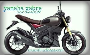 Yamaha New Vixion Lightning modifikasi scrambler