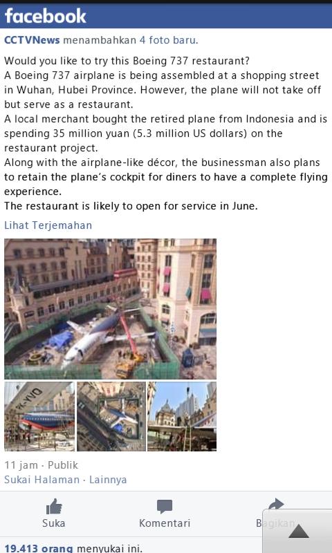 restoran pesawat china