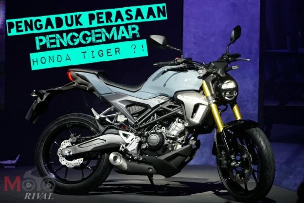 Honda Tiger versi thailand CB 150 R exmotion